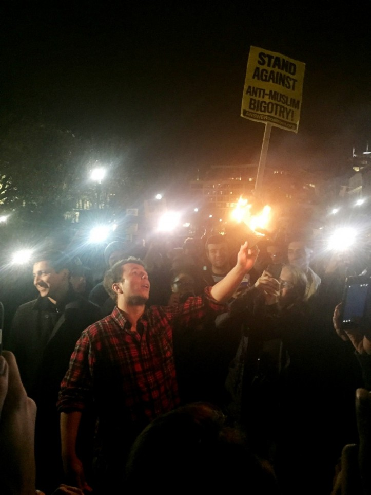 protester-sets-trump-hat-on-fire